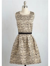 ModCloth Of Luster and Light Dress Laurel, 20707