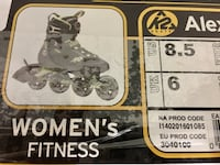 Women's rollerblades 8.5 new with box Montréal, H8N 2W2
