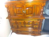 brown wooden dresser Winnipeg, R3A 1K9