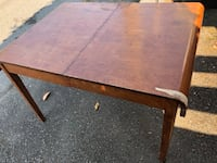 rectangular brown wooden dining table Vancouver, V5Y 2H2