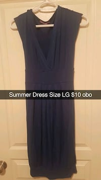 women's black sleeveless dress Lloydminster, S9V 1K1