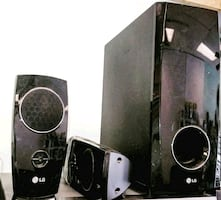 LG surround sound speaker system 2000 watts