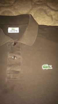 brown Lacoste polo shirt Calgary, T2K 4V5