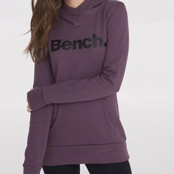 Purple Bench Hoodie size Med