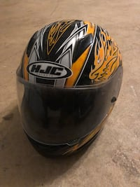 black and yellow HJC full-face helmet Fairfax Station, 22039