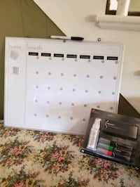 Months Dry erase board, with eraser markers and cl Milwaukee, 53202