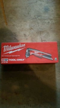 Milwaukee m12 right angle drill new Dundalk, 21222