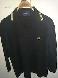 Svart Fred Perry polo shirt