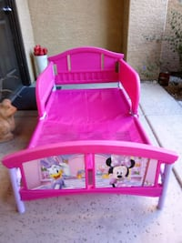 Minnie mouse girls bedframe