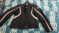 black and red BMW leather zip-up jacket Toronto, M9N 1T4