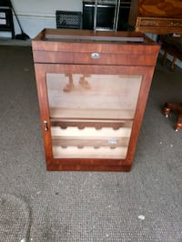 Humidor and wine cabinet. Gloucester, 23061