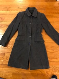 Zara basic wool lady coat jacket Boyds, 20841