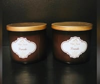 2 brand new 3 wick candles- fireside bath and body works Edmonton, T6K 2Y6
