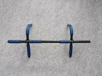 blue and black metal pull-up bar Surrey, V3W 6B6