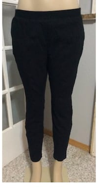 Chico's Size 2 SO Slimming black ankle pants Georgetown, 19947