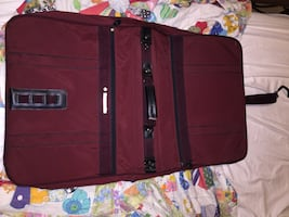 Dress/suit folding luggage