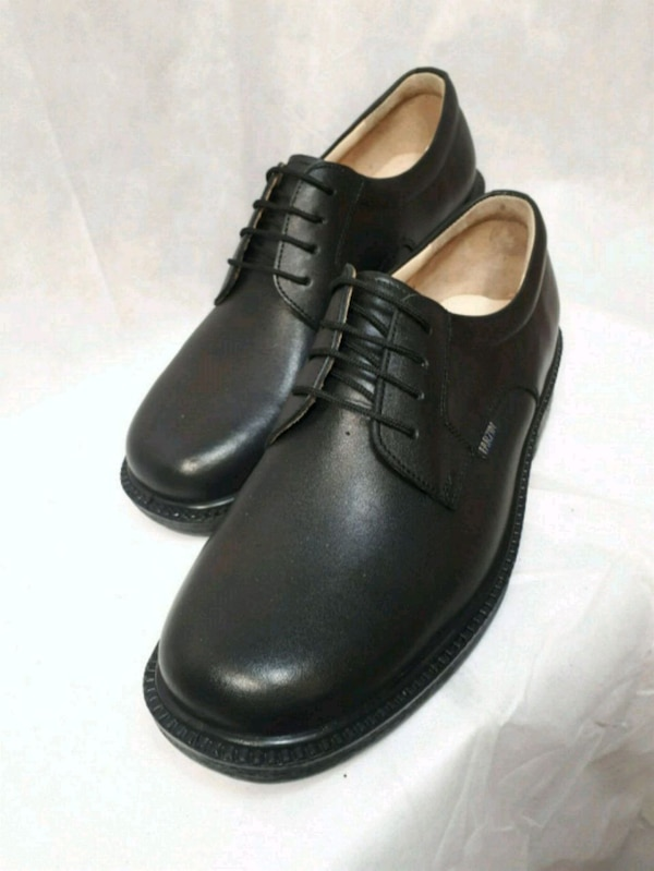 Brand new with box wide genuine leather shoes