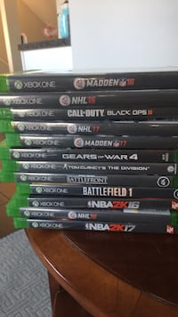 assorted Xbox One game cases Clarkston, 48346