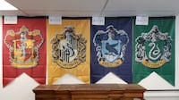 4 Hogwarts Harry Potter Banners Mississauga