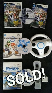 $20 EACH! Nintendo Wii and Wii U games