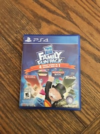 Ps4 hasbro family fun pack 4 games in 1 Niagara Falls, L2E 1Y9