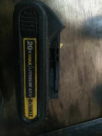 black and yellow DEWALT battery charger Montebello, 90640