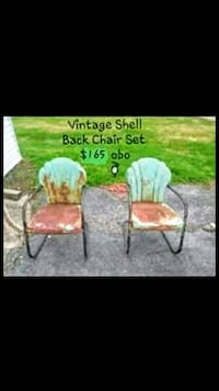 Vintage Patio Chairs  Manchester, 21102