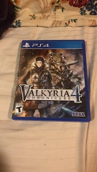 Valkyria chronicle 4 ps4 game