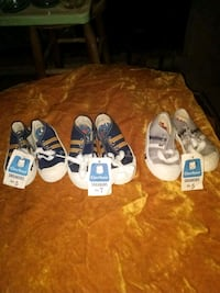Gerber sneakers size 5 and 1 pair size 7