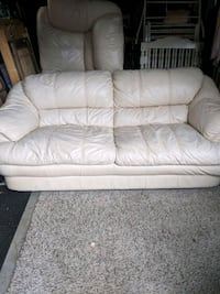 Leather couch, loveseat, chair. Elkridge, 21075