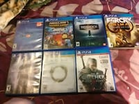 Ps4 games 20 a peace or 110  Saint Marys, 15857