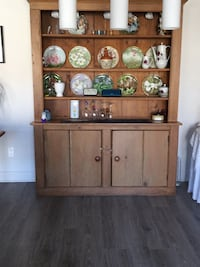 brown wooden cabinet with shelf Vaudreuil-Dorion, J7V 2T9
