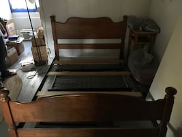 Antique Bedframe