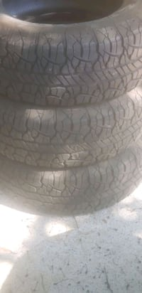 Size 265/65/17..3 tires