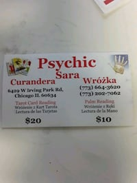 Palm and Tarot Readings