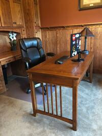 brown wooden desk with chair Otsego, 55362