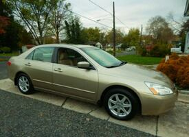 Selling Our 2004 Honda Accord EXL