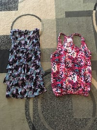 Two patterned XS Tank tops  Leesburg, 20175