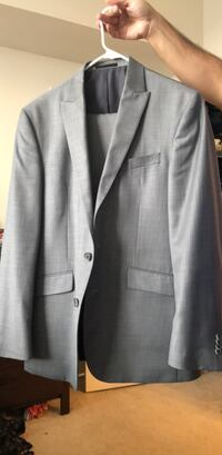 Gray notched lapel suit jacket Rockville, 20852