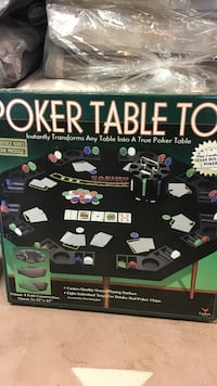 Fold out Poker Table Top