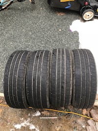 Four vehicle tires Chilliwack, V2R 3J9