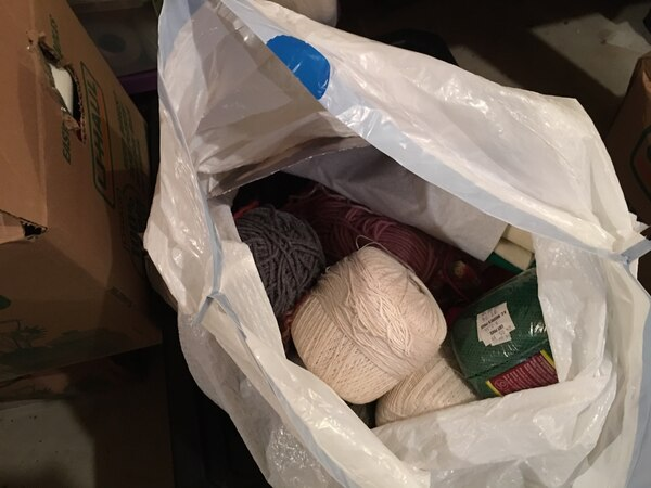 Used Yarn and crochet thread. for sale in Andover - letgo 0da04742a89d5