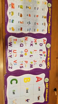 All 3 leap frog puzzles Cambridge