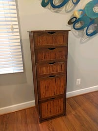 5 drawer shelf unit Reston