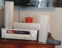 Kenwood reciver with remote and speakers Hamilton, L8H 5K4