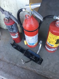 3 FIRE EXTINGUISHERS $20