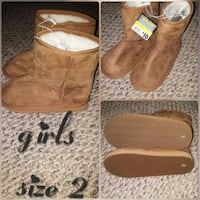 New! Girls boots size 2 Waco, 76711