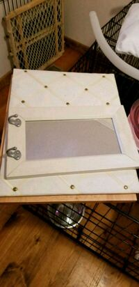 Mirror with hooks and hanging picture holder Philadelphia, 37846