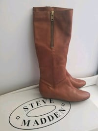 Women's Steve Madden Leather Boots Size 10