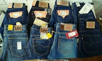 Lotto Jeans Levi's e Lee